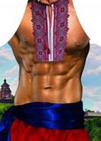 Фартук прикольный мужской принт Козака (103430)