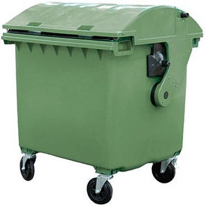 Contenur пластиковий сміттєвий бак 1,1 м3