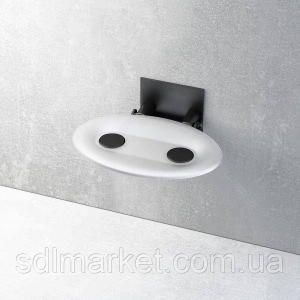 Відкидне сидіння RAVAK Ovo-P прозоро-біле