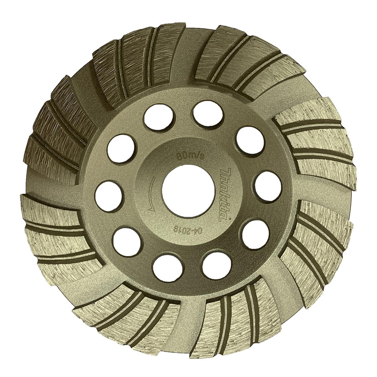 Алмазный шлифовальный диск (турбо) 125х22,23 мм Makita (D-66721)