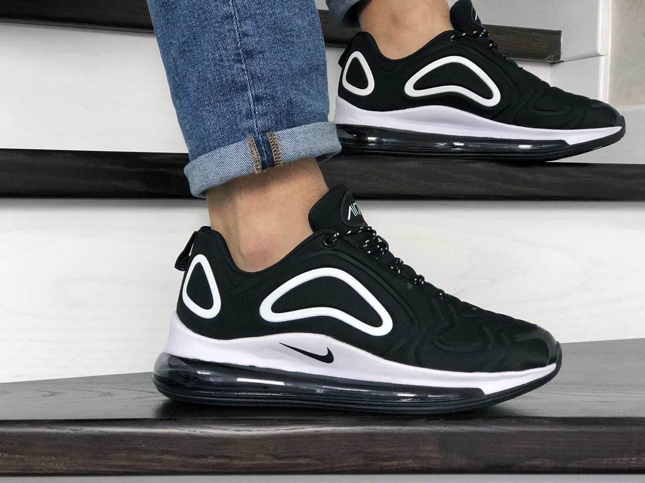 Мужские кроссовки Nike air max 720,черно белые