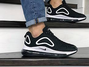 Мужские кроссовки Nike air max 720,черно белые, фото 2