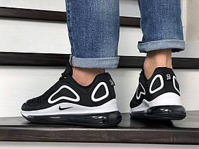 Мужские кроссовки Nike air max 720,черно белые, фото 3
