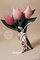 Тюльпаны в стиле Tilda, фото 1