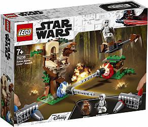 LEGO 75238 Star Wars Напад на планету Ендор 193 деталі (ЛЕГО 75238 Нападение на планету Эндор)