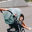 Легкая Прогулочная коляска CARRELLO Gloria +дождевик, фото 3