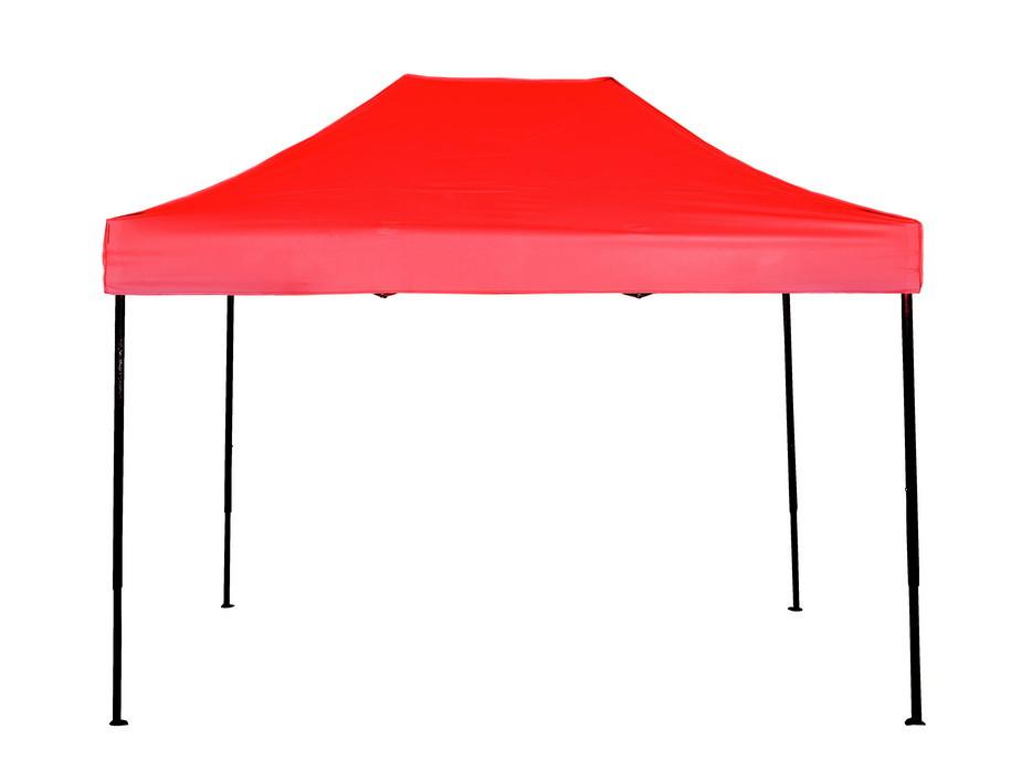 Намет розсувний 3х4.5 м червоний