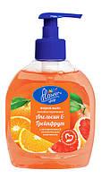 """Жидкое мыло Flower Shop с Витамином Е """"Апельсин и Грейпфрут"""" 300 мл"""