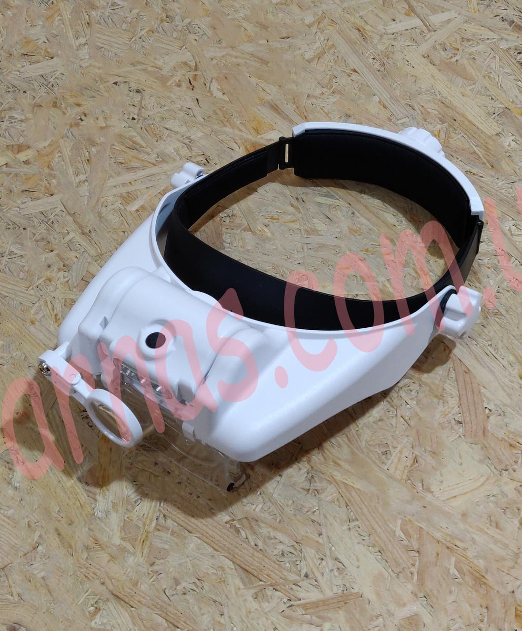 Бинокуляр очки бинокулярные со светодиодной подсветкой MG81000S