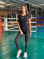 Комплект костюм спортивный комперссионный  женский Under Armour Андер Армор ⏩ (S,M,L,XL)