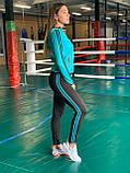 Комплект костюм спортивный комперссионный  женский  Adidas Адидас ( S-M, L-XL ), фото 2