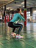 Комплект костюм спортивный комперссионный  женский  Adidas Адидас ( S-M, L-XL ), фото 8