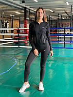 Комплект костюм спортивный комперссионный  женский  Nike Найк  ( S-M, L-XL ), фото 1