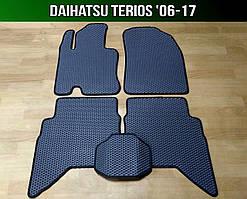 ЄВА килимки Daihatsu Terios '06-17. Автоковрики EVA Дайхатсу Териос