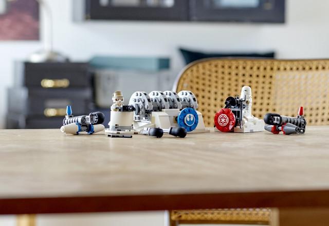 LEGO Star Wars 75239 Разрушение генераторов на Хоте