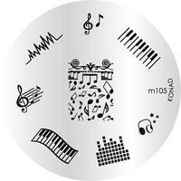 Диск для стемпинга Konad Image Plate M105, фото 1
