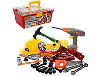 Набор инструментов 48 деталей в чемодане. 2056