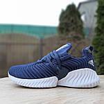 Жіночі кросівки Adidas AlphaBounce Instinct (сині) 2955, фото 3