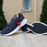 Жіночі кросівки Adidas AlphaBounce Instinct (синьо-помаранчеві) 2956, фото 5