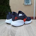 Жіночі кросівки Adidas AlphaBounce Instinct (синьо-помаранчеві) 2956, фото 6