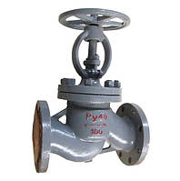 Вентиль (клапан) 15с22нж стальной запорный фланцевый Ду 25
