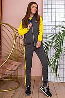 Женский спортивный костюм тройка / двунитка / Украина 6-934-1, фото 1