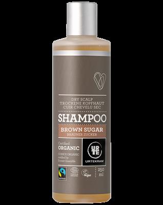 Органический шампунь Urtekram для объема волос, Тростниковый сахар, 250 мл