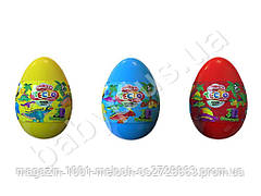 Набор для творчества Тесто для лепки Master Do Dinosaurs EGGS. Danko toys ТМD-08. Рус