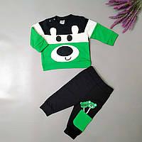 Костюм Мишка  зелёный с карманом