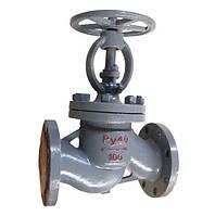 Вентиль (клапан) запорный 15с22нж стальной фланцевый Ду 100