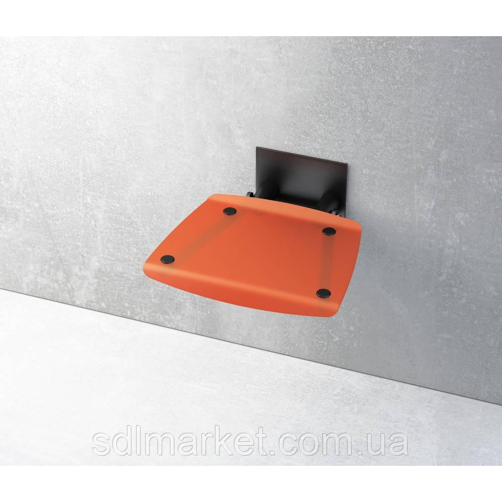 Відкидне сидіння RAVAK Ovo-B прозоро-помаранчеве
