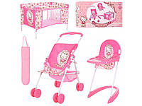 Набор игровой Мебель для куклы Hello Kitty. Hauck D-98282