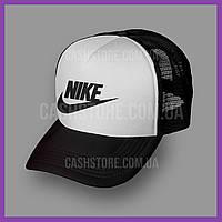 Кепка Тракер Nike 'Futura Icon' | Черная с белым лбом