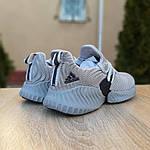 Чоловічі кросівки Adidas AlphaBounce Instinct (сірі) 1952, фото 5