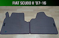 ЕВА коврики на Fiat Scudo II '07-16. Ковры EVA Фиат Скудо 2, фото 1