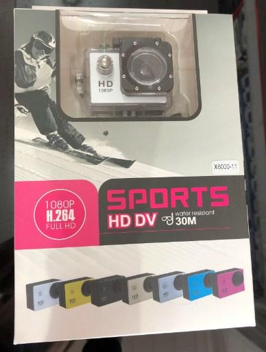 Action камера SPORTS X6000-11 HD