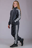 Спортивный костюм детский теплый Training (темно-серый) 36 р.