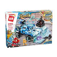 """Конструктор Brick 3405 Power Squad """"Бронированный ледяной автомобиль"""" 596 деталей, фото 1"""