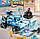 """Конструктор Brick 3405 Power Squad """"Бронированный ледяной автомобиль"""" 596 деталей, фото 7"""