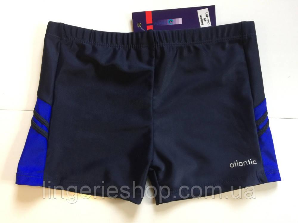 Плавки-шорты подросток Atlantic синий с электрик