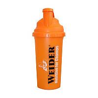 Шейкер для спортивного питания Weider MixMaster Shaker Standard Orange 700 мл Оранжевый