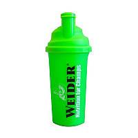 Шейкер для спортивного питания Weider MixMaster Shaker Standard Green 700 мл Зеленый