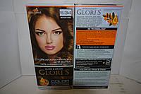 Краска для волос Gloris 5.34 (Лесной орех) Для 2-х применений