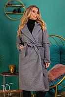 Пальто женское демисезонное / кашемир иск. / Украина 14-800, фото 1