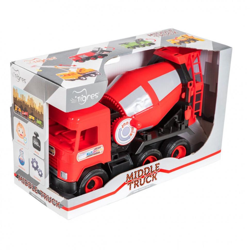 "Авто ""Middle truck"" бетономешалка 39489"