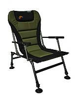 Крісло рибацьке Novator SF-1 Comfort Мягкое Кресло для рыбалки, туристическое кресло QE3