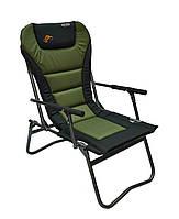 Крісло рибацьке Novator SF-4 Comfort Мягкое Кресло для рыбалки, туристическое кресло QE2