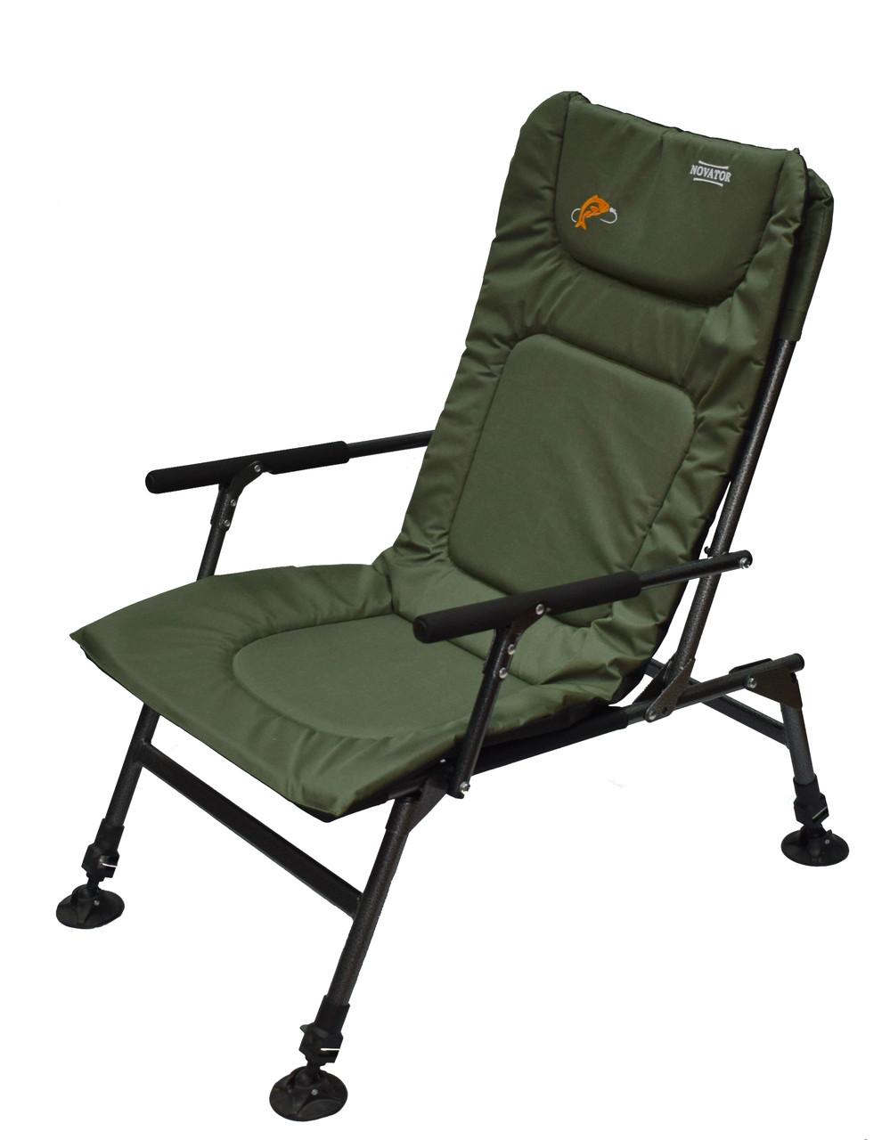 М'яке коропове крісло для риболовлі з регульованими ніжками SF-1