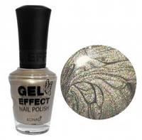 Лак для ногтей Konad Gel Effect Nail Polish - 16 Silver Pearl 15 мл
