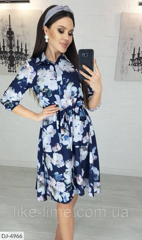 Весеннее платье-рубашка, модное платье-рубашка